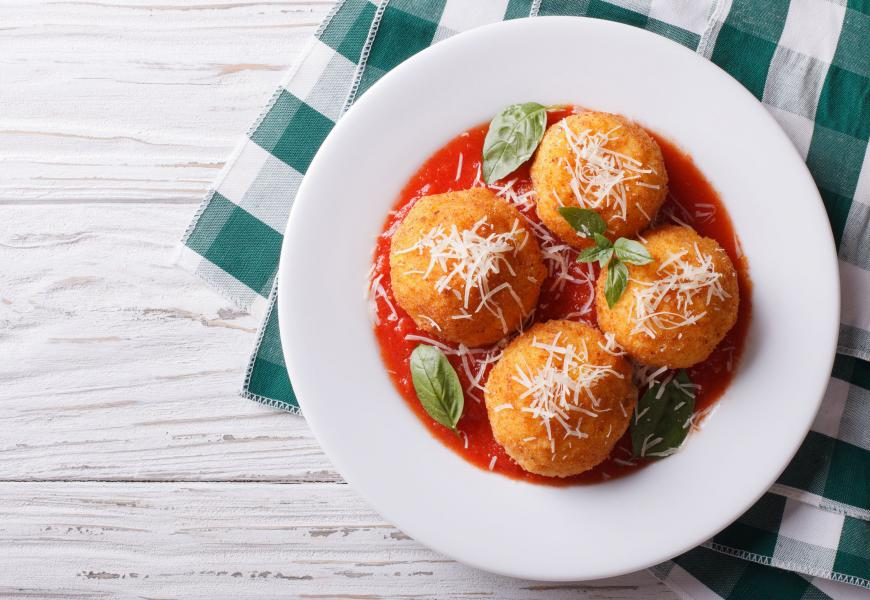 Arancini, alaprecept